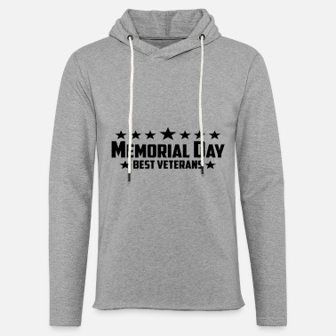 Memorial day - Unisex Lightweight Terry Hoodie