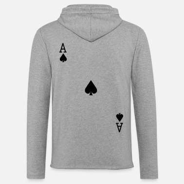 Vector Ace of Spades - VECTOR - Unisex Lightweight Terry Hoodie