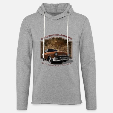 Chevy 55-Chevy - Unisex Lightweight Terry Hoodie