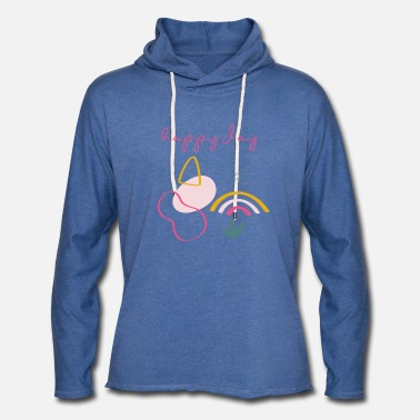 Meeting Happy Day - Unisex Lightweight Terry Hoodie