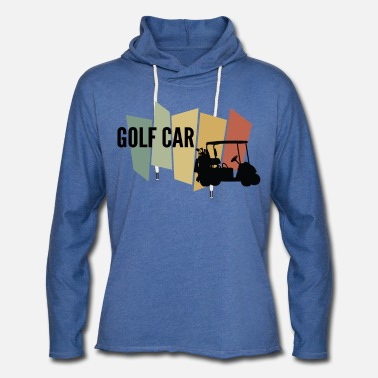 Vehicle SAMOCHOD GOLF - Unisex Lightweight Terry Hoodie