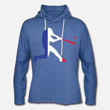 Country France Baseball Team - Unisex Lightweight Terry Hoodie