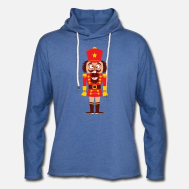 Tooth A Christmas nutcracker is a funny tooth cracker - Unisex Lightweight Terry Hoodie