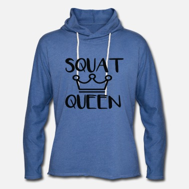 Squat Squat Queen - Unisex Lightweight Terry Hoodie