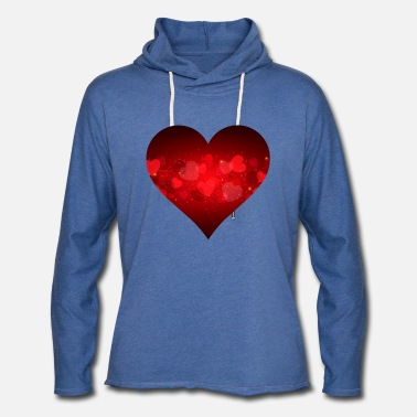 Hearts are Contagious - Love Supreme - Unisex Lightweight Terry Hoodie