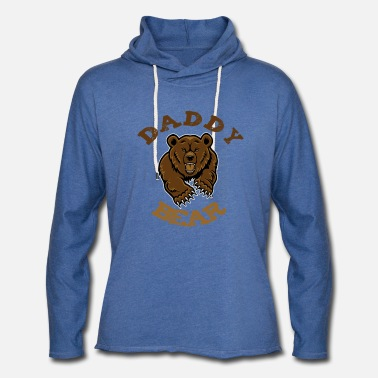 daddy bear - Unisex Lightweight Terry Hoodie