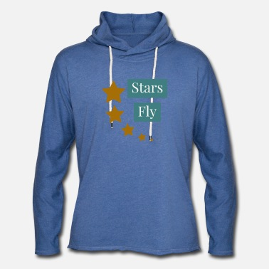 Naughty Fly Star - Unisex Lightweight Terry Hoodie