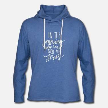 Morning In The Morning - Unisex Lightweight Terry Hoodie
