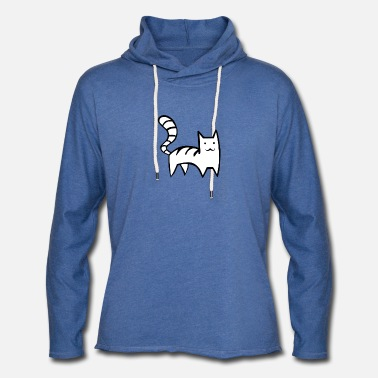 Pointy Pointy Cat Classic - Unisex Lightweight Terry Hoodie