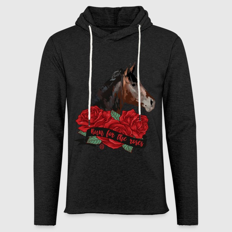 Run for the roses - Unisex Lightweight Terry Hoodie