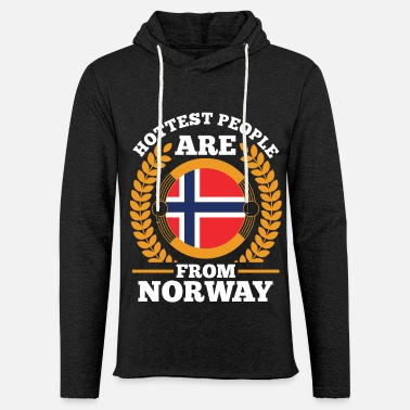 Tourist Norway Tourist - Unisex Lightweight Terry Hoodie