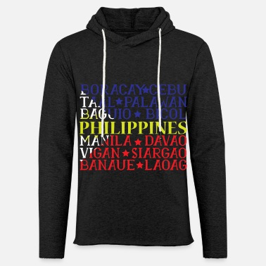 Country Philippines filipina Ancestry gift idea - Unisex Lightweight Terry Hoodie
