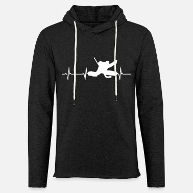 Hockey Goalie Hockey Goalie - Unisex Lightweight Terry Hoodie