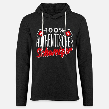 Swiss German Swiss Switzerland German Language Funny Gift - Unisex Lightweight Terry Hoodie