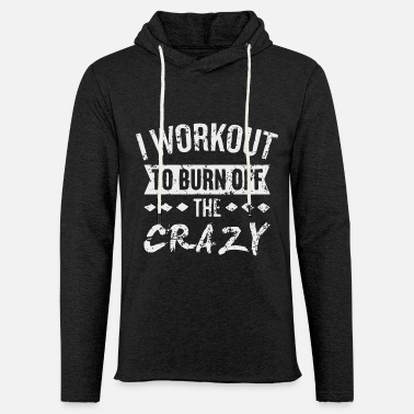 Gym Funny gym quote - Unisex Lightweight Terry Hoodie