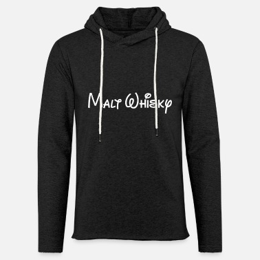 Malt Whisky- The ultimate gift for a Whiskylover! - Unisex Lightweight Terry Hoodie