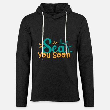 Definition Summer gift sea you soon - Unisex Lightweight Terry Hoodie