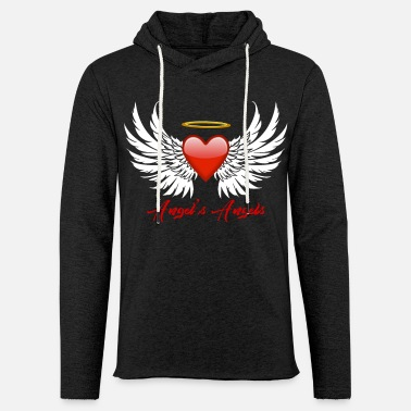 Angel Angels Angels - Unisex Lightweight Terry Hoodie