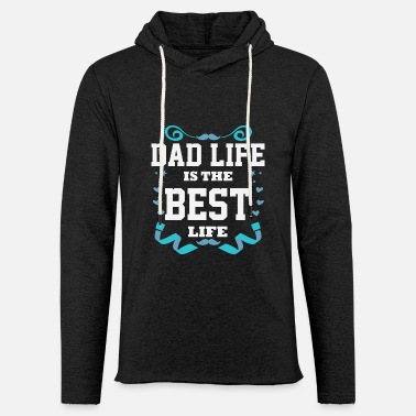 912a9ad9 Cute Fathers Day Message Best Dad Life Daddy Gift Men's Premium T ...