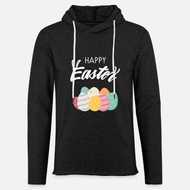 Happy Easter Happy Easter - Unisex Lightweight Terry Hoodie