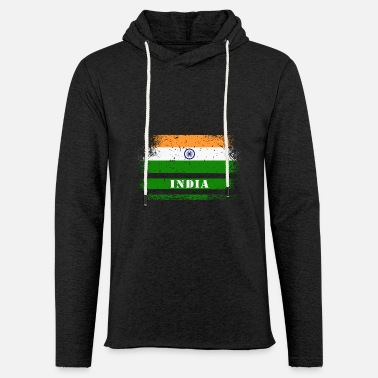 Bollywood India Vintage Design / Gift Idea - Unisex Lightweight Terry Hoodie