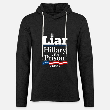 Hillary For Prison 2016 - Unisex Lightweight Terry Hoodie