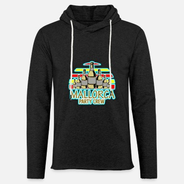 Mallorca Mallorca - Party Crew - Beer Party - Unisex Lightweight Terry Hoodie