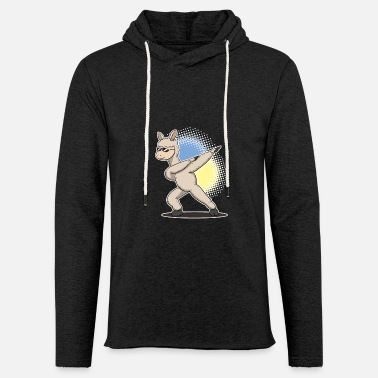 Trend Animal Dab Alpaca Dabbing Dapping Alpacas Trend Animal - Unisex Lightweight Terry Hoodie