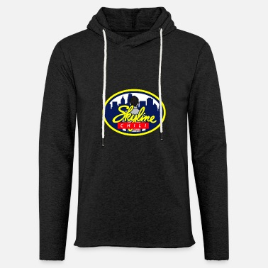 Skyline Skyline Chili Skyscraper City Travelling Gift - Unisex Lightweight Terry Hoodie