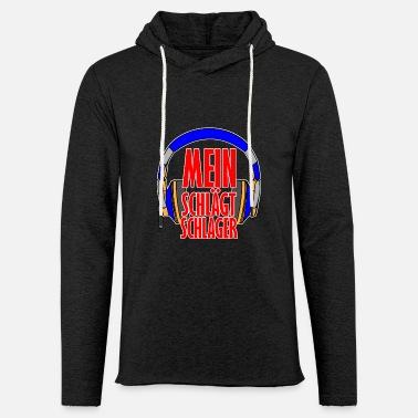 Hits My head hits hit - Unisex Lightweight Terry Hoodie