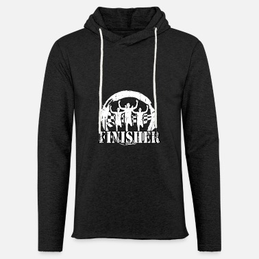 Jogger - Finisher - Unisex Lightweight Terry Hoodie