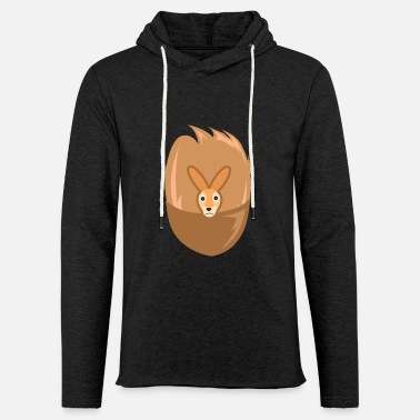 Halloween Kangaroo Costume - Kangaroo with Pocket - Unisex Lightweight Terry Hoodie