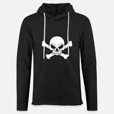 Pirate Flag Bones Pirate flag - Unisex Lightweight Terry Hoodie
