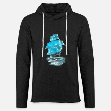 Sailing Ship sailing ship - Unisex Lightweight Terry Hoodie