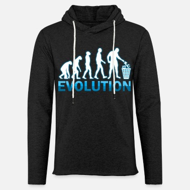 Evolution - Unisex Lightweight Terry Hoodie