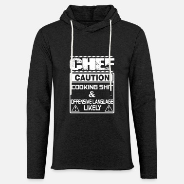 Chef Chef chef chef funny Chef (male) cool c - Unisex Lightweight Terry Hoodie