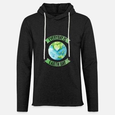 Earth Day Earth Day Every Day - Unisex Lightweight Terry Hoodie