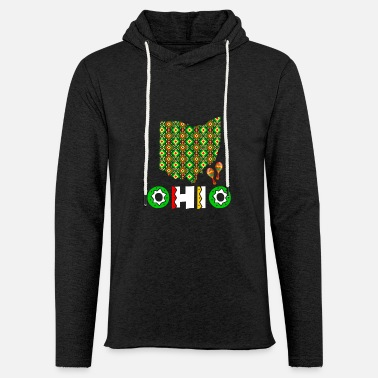 Cinco De Mayo United States Cinco De Mayo Ohio - Unisex Lightweight Terry Hoodie