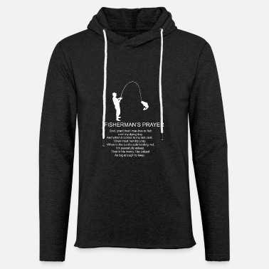 Fisherman Fishermans Prayer - Unisex Lightweight Terry Hoodie