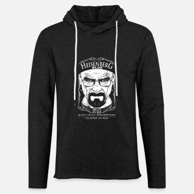 Walter White Breaking Bad Heisenberg T-Shirt - Unisex Lightweight Terry Hoodie