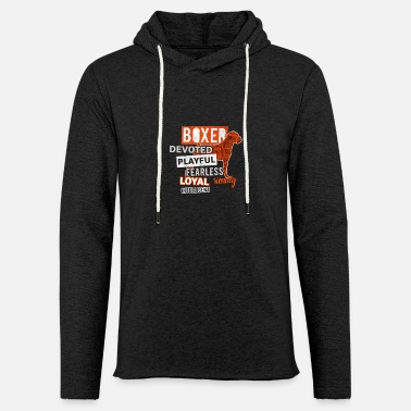 Devoted Devoted Boxer - Unisex Lightweight Terry Hoodie