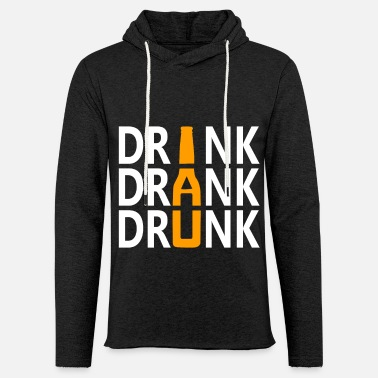 Beer Garden Drink Drinker Drunk Brewery Alcohol - Unisex Lightweight Terry Hoodie