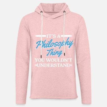 Philosophy Philosophy Philosophy Thing - Unisex Lightweight Terry Hoodie