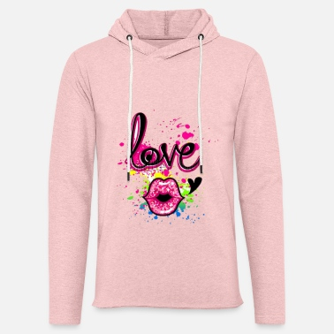 Girlish Girlish design - Unisex Lightweight Terry Hoodie