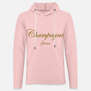 Birthday Drinking Gift Unisex Hoodie Champagne Made Me Do It