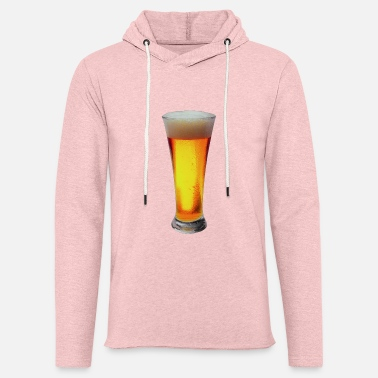 Lager Glass of lager - Unisex Lightweight Terry Hoodie