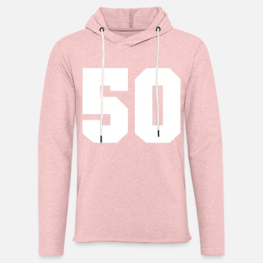 Number 50 50 - number 50 - 50year - Unisex Lightweight Terry Hoodie