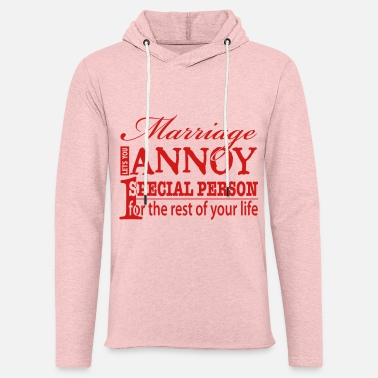 Marriage Funny Marriage Quote - Unisex Lightweight Terry Hoodie