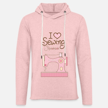 Sewing I love sewing - Unisex Lightweight Terry Hoodie