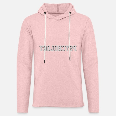 Psychology Reverse Psychology - Unisex Lightweight Terry Hoodie